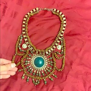 Zara chunky necklace